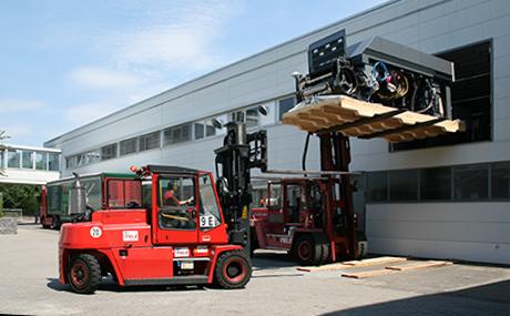 Machinery transport