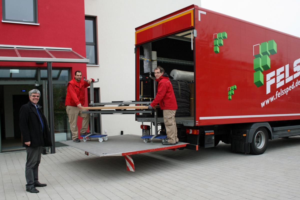 Umzug St.Paulus Kinderheim Heidelberg   Fritz Fels GmbH Fachspedition