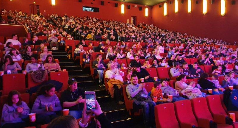 Hajo Adler Charity Event Cinemaxx Mannheim