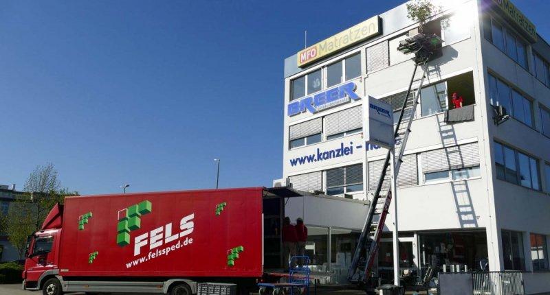Büroumzug Breer Gebäudedienste Heidelberg