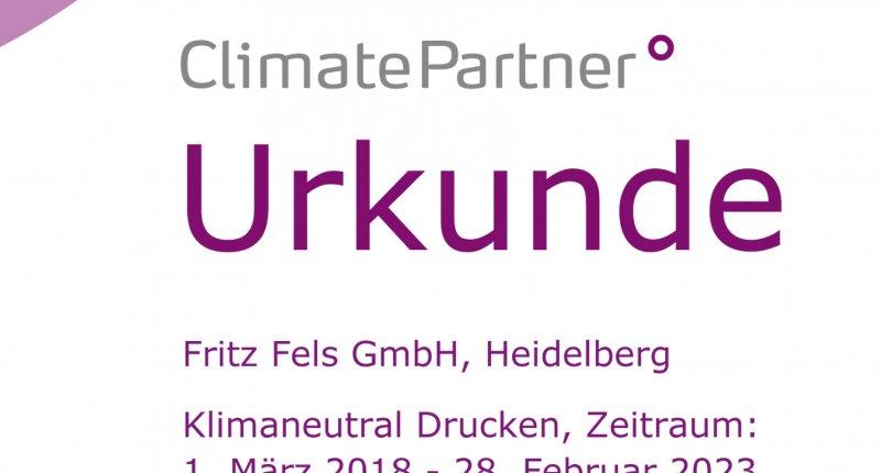 Klimaneutrales Drucken