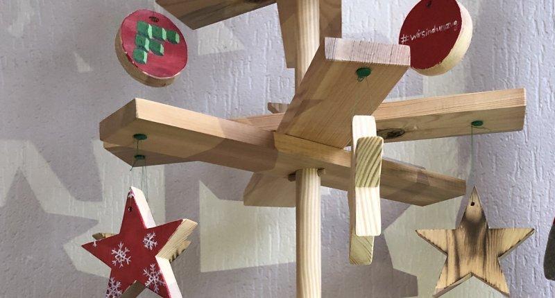 DIY Baum FELS
